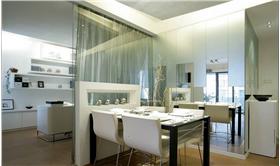 大户型开放式空间餐桌餐椅图片
