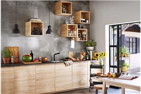 阳光与植物共处,田园别墅厨房设计