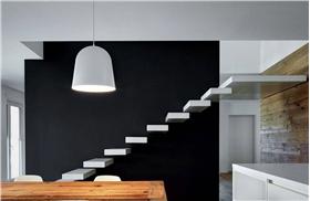 简洁自然的复式楼梯设计