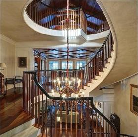 时尚大气的旋转楼梯设计
