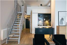 家庭铁艺楼梯设计#简约#
