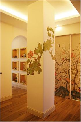 混搭风格别墅走廊装修图片