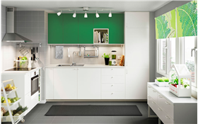 现代实用厨房橱柜图片欣赏