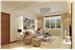米色雅致现代风格客厅窗帘10bet十博娱乐app
