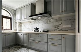 白色简欧风格厨房橱柜