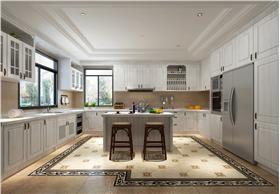 欧式风格厨房白色橱柜
